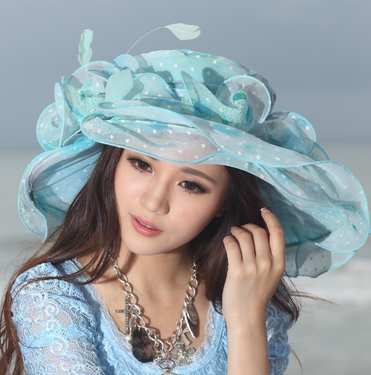 a29466c4 Women Hat Fancy Hats For Women Summer Dress