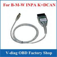 Wholesale Inpa K Dcan Obd2 Bmw - On sale!!!for BMW INPA K can inpa k dcan USB OBD2 Interface INPA Ediabas with best price 20pcs lot with DHL Freeshipping