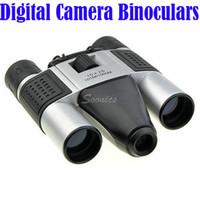 Wholesale Video Camera Telescope Zoom - Wholesale 1.3MP 10x25 Zoom Digital Camera Binoculars Telescope Video Recorder Camcorder DV Free Shipping