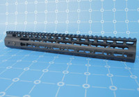 Wholesale E Packet - High Quality NSR 15 Handguard One-piece Top Rail System For AR-15 Black e-Packet Free Shipping