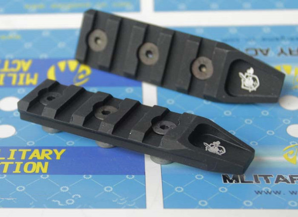 best selling MA 5 Slots Rail Panel - KeyMod For AIRSOFT URX4 Rail (BK TAN) FREE SHIPPING
