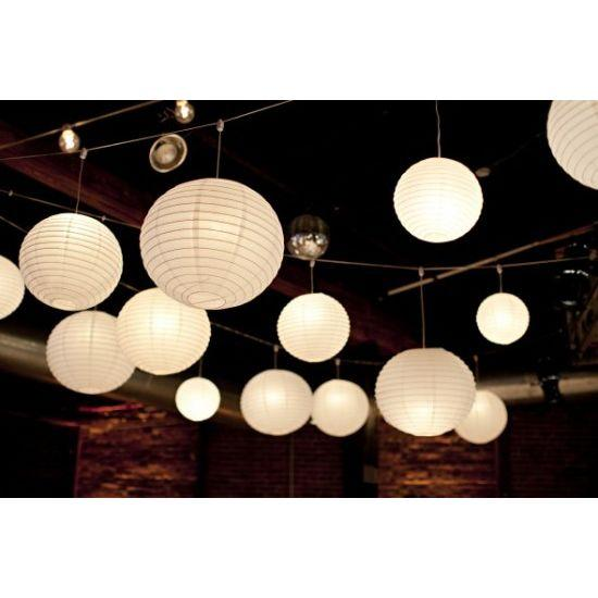 white paper lanterns with led lights lantern buy for wedding