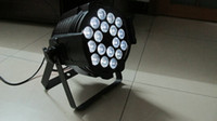Wholesale Led Par 64 Stage Lights - LED Multi par can par 64 Indoor led wash light 18X15W RGBAW 5-in-1 DJ party stage lighting