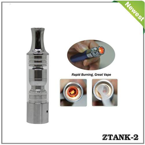 Ztank 2 Pyrex glass Wax Burner atomizer Pen wax cartomizer Dry Herb Vaporizer like electronic cigarette cloutank c1 clearomizer cloupor DHL