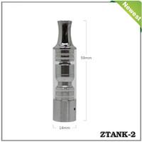 Wholesale Electronique Cigarettes - Ztank 2 Pyrex glass Wax Burner atomizer Pen wax cartomizer Dry Herb Vaporizer like cigarette electronique cloutank c1 clearomizer cloupor