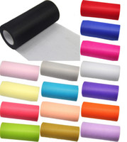 Wholesale retail tulle rolls quot yd Many color for choose