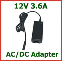 Wholesale microsoft surface pro 12v charger for sale - Group buy AC DC Adapter V A W Charger for Tablet PC Microsoft Surface Pro Surface RT Surface Pro Power Adapter Supply