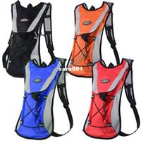 mochila laranja azul venda por atacado-NOVA CHEGADA!! Pacote de hidratação Bexiga De Água Esportes Mochila Saco de Ciclismo Caminhadas Escalada Bolsa Azul Preto Vermelho Laranja ## 4 SV001803