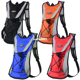 Wholesale Water Bladder Pouch - NEW ARRIVAL!! Hydration Pack Water Bladder Sports Backpack Cycling Bag Hiking Climbing Pouch Blue Black Red Orange ##4 SV001803