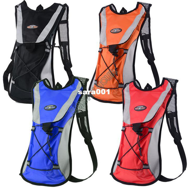 top popular NEW ARRIVAL!! Hydration Pack Water Bladder Sports Backpack Cycling Bag Hiking Climbing Pouch Blue Black Red Orange ##4 SV001803 2019