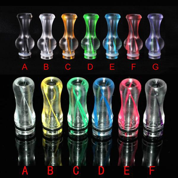best selling Ribbon Drip Tips 510 Plastic Drip Tip King Kong Gourd EGO Atomizer Mouthpieces for RBA RDA Vaporizer DCT EE2 E Cig tanks Caromizer