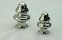 Wholesale Rosebud Metal Butt Plug - New Arrival A532 Mushroom Anal plug Stainless Steel Attractive Butt Plug Jewelry Jeweled Anal Plug Rosebud Anal Jewelry Large Small Mushroom