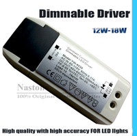 Wholesale High Quality Led Dimmable Drivers - LED light dimmable driver 12W to 18W Downlight LED Dimming transformer high quality and accuracy dimmable for LED panel Down light Ceiling