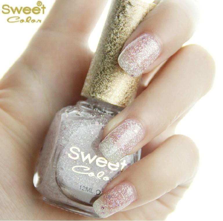 New Ice Cream Sweet Color Green Nail Polish Nude Color Candy Colored ...