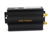 Wholesale Gmc Navigation Wholesale - 2015 Gps Tracker Car Rushed Car Gps Navigation Rastreador Veicular Vehicle Gsm Sms Tracker Tk103a Real-time Tracking Device Alarm System