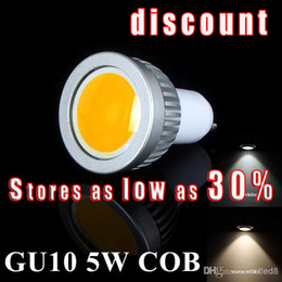 Wholesale Dimmable E27 Lumens - Lucky X2 COB 5W 600 Lumens Dimmable GU10  e27 mr16 e14  Led Bulbs Light 120 Angle Warm Natural Cool White AC 110-240V Led Spotlights Lamp