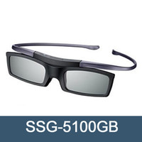ingrosso vetri 3d attivo samsung-Occhiali 3D 3D SSG-5100GB attivi per tutti i modelli TV 3D D, E, ES e F serie Samsung 2015,2014 e 2011 (modello follow-up SSG-4100GB)