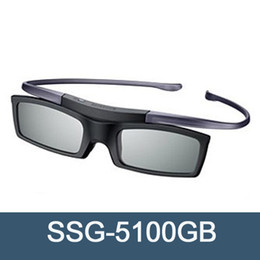 Wholesale Active Shutter 3d Glasses - 3D Active SSG-5100GB Bluetooth Glasses for all Samsung 2015,2014 and 2011 D,E ,ES and F series 3D TV(SSG-4100GB follow-up Model)