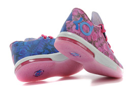 Wholesale Order Summer Shoes - Wholesale Basketball Shoes KD VI 6 Kevin Durant Aunt Pearl Honored Sports Shoe Athletics Sneakers Basketball Boots Fast Shippment Mix orders