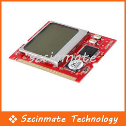 Wholesale Mini Pc Analyzer - LCD MINI PCI PC Computer Analyzer Diagnostic POST Card Wholesale