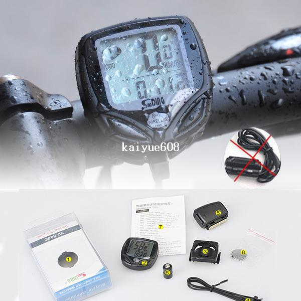 Wireless Waterproof LCD Cycling Bike Bicycle Computer Odometer Speedometer