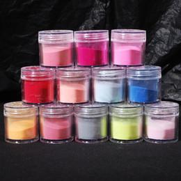 Wholesale Acrylic Powder Jumbo - Free Shipping NEW 12Colors Acrylic Powder Dust Jumbo Set for Professional Nail Art Design