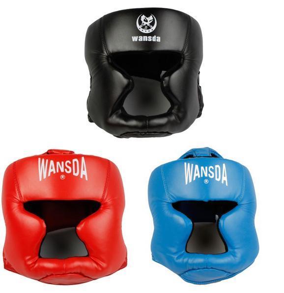 Free shipping 3pcs/lot Closed type boxing head guard/Sparring helmet/MMA/Muay Thai kickboxing brace/Head protection HT-29