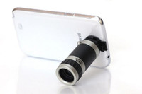 Wholesale Covers Galaxy Zoom - 2014 New Arrival 8x Zoom Telescope Lens with Clear Case Cover Mobile phone Telescope For Samsung Galaxy S4 Free Shipping