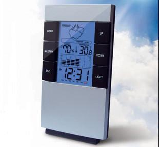 عالية الدقة تنبؤات الطقس محطة الصمام الرقمية الساعة درجة الحرارة سطح المنبه الرقمية ميزان الحرارة الرطوبة متر الصمام