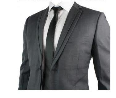 وسيم جديد مصمم كامل أسود سهرة / العريس سترة + بانت + سترة + التعادل ST010