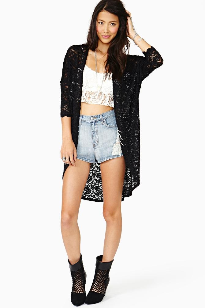 Discount Ladies Cardigan Sweaters Women Floral Lace Cardigan ...