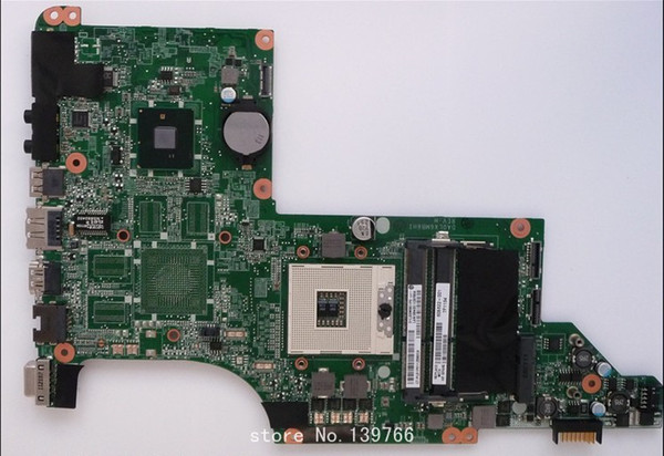 best selling 605322-001 board for HP pavilion dv7 dv7t dv7-4000 motherboard with intel hm55 chipset