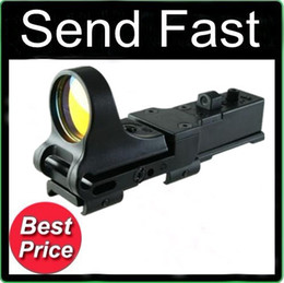 Wholesale C More Red Dot Sight - Send Fast Sporting Tactical C-More Style Red Dot Scope Sight Windage Elevation Fit 20mm Rail