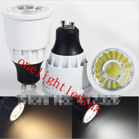 Energy Saving CREE 7W 10W 15W Led Spotlights GU10 E27 MR16 Dimmable Led COB Bulb Lights Warm White/Cool White 110-240V