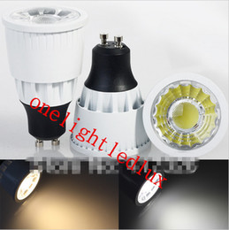 Dimmable E14 Energy Saving Bulb Canada - Energy Saving CREE 7W 10W 15W Led Spotlights GU10 E27 MR16 Dimmable Led COB Bulb Lights Warm White Cool White 110-240V