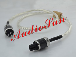 Hifi Power Cable Canada - Free shipping Nordost Odin Power cable with Furutech Rhodium plated power plug 1.5M