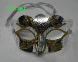 $enCountryForm.capitalKeyWord NZ - 2018 Hot sales gold Powder Painted Mask Halloween Masquerade Masks Mardi Gras Venetian Dance Party Face The Mask Mixed Color