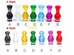 Wholesale Ming Drip Tips - Cheapest 510 Plastic Drip Tips Ming Style Drip Tip Gourd E Cigarette Atomizer Mouthpieces for CE4 Vivi Nova DCT 510 EGO Tanks Clearomizer