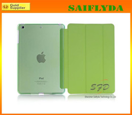 Wholesale Ipad Air Smart Cover Colors - many colors Ultra Thin Magnetic Leather Smart Case Cover Back Cover For iPad Air For ipad 5 ipad mini retina
