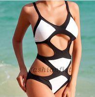Wholesale Sexy Cut Out Swimsuits - New Hot Sale Sexy Women One Piece Monokini Cut Out Bandage Bikini Set Swimwear Swimsuit Bathing Suit size S M L XS