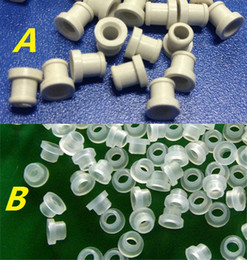Wholesale Silicone Insulated - E Cigarette replaceable heater Silicone Heater Insulated Ring Silica Atomizer Insulating Ring for CE4 CE5 CE6 Clearomizer Atomizer 50 pcs