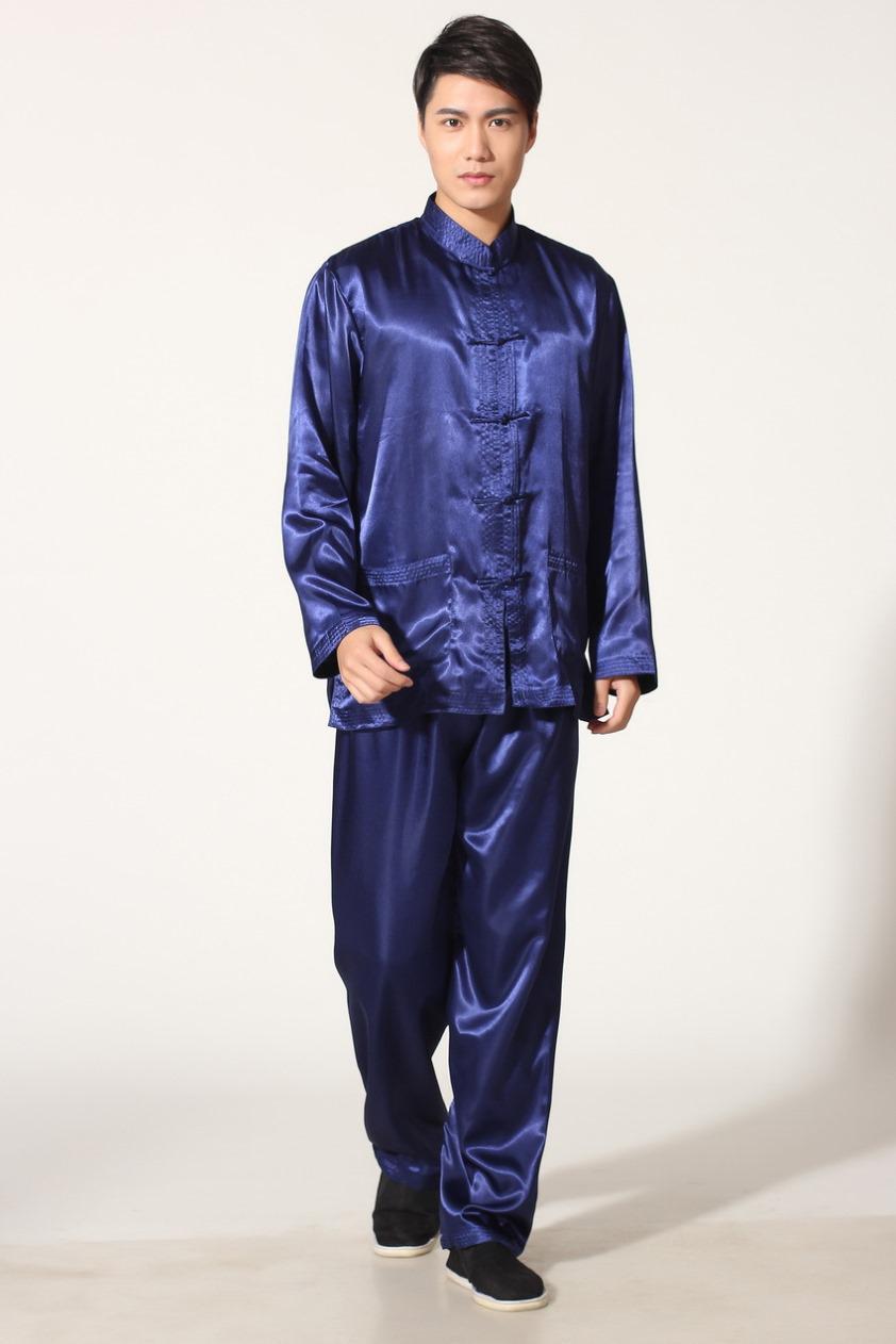 Xangai História Preço de Fábrica Tai Chi roupas taijiquan desempenho roupas de trabalho roupas de kungfu terno wushu uniforme conjunto kung fu terno M301X