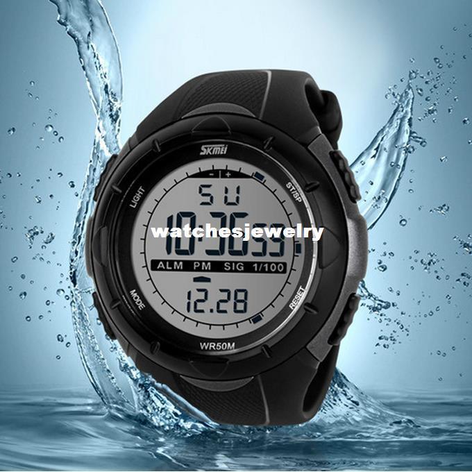 82737d1ff60 Compre 2014 Novo Skmei Marca Homens Led Relógio Digital