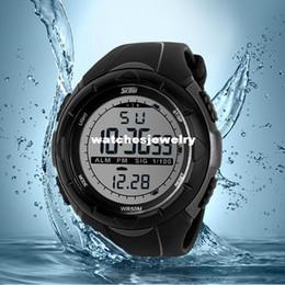 Epozz Männer Sport Militär Uhren Led Digital Mann Marke Uhr 5atm Dive Swim Kleid Fashion Outdoor Jungen Elektronische Armbanduhren Herrenuhren Digitale Uhren