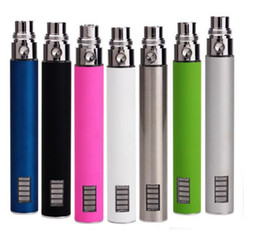 Wholesale Ego Battery Adjustable Lcd - EGo VV Battery 650mah 900mAh 1100mah Rechargeable Variable Voltage Batteries with LCD Screen for EGO Iclear 30 LED tank Electronic Cigarette