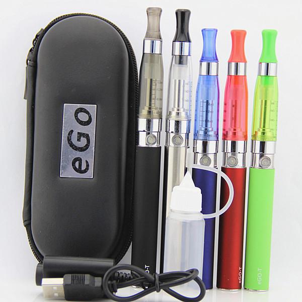Electronic cigarette ego ce5 ce4 starter kit e cigarette ego t ego-t battery e cig 1.6ml ego ce4 ce5 atomizer 650-1100mah e cigs