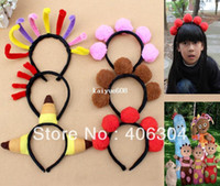 Wholesale Wholesale Iggle Piggle - Free shipping,6pcs set,In the Night Garden character Iggle Piggle,Upsy Daisy children performance party headband ,head circle