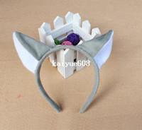 Wholesale wholesale animal suppliers online - COSPLAY Animal ear headband wolf ear party headband christmas headband party supplier