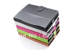 Wholesale Cheap Ipad Stand Cases - 2pcs lot hight quality New Mini 7 inch Tablet Stand 360 Rotating Cheap PU Leather Case for Samsung P3100 Galaxy Tab 7.0 inch