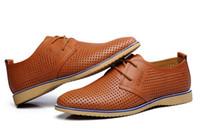 Wholesale Cotton Wedding Sandals - groom's shoes Wedding shoe Breathable beach shoes Hollow out men's fashion business shoes men's Work shoes Casual shoes sandals NSPX15